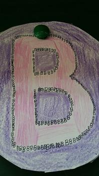 Alphabet Tracing Art Project