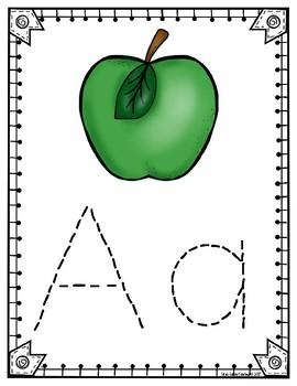Alphabet Tracing Binder