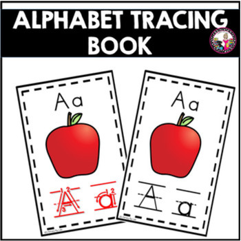 Alphabet Tracing Book! Plus Editable file!