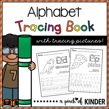 Alphabet Tracing Book