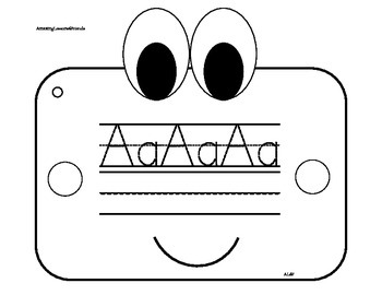Alphabet Tracing Book Ages 4 and 5