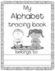 Alphabet Tracing Book & FREE Chart*Guided Reading*