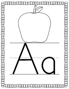 Alphabet Tracing Book *Guided Reading*