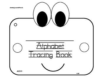 Alphabet Tracing Book age 3