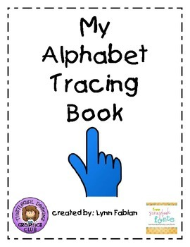 Alphabet Tracing Browsing Bin Book