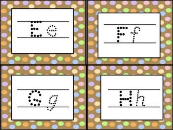 Alphabet Tracing Cards