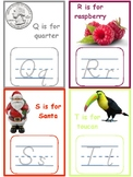 Alphabet Tracing Cards -- Montessori Initial Sounds--Fine