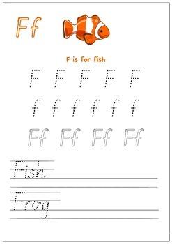 Alphabet Tracing Cards PREVIEW