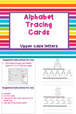 Alphabet Tracing Cards - Upper Case Letters