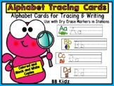 Alphabet Tracing Cards for Stations