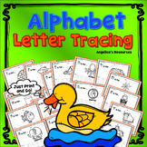 Alphabet Tracing : Fine Motor Skills - Letter Tracing - Handwriting Worksheets