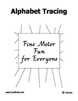 Alphabet Tracing - Fine Motor / Writing Support - 78 pages - PDD, Autism, SpEd