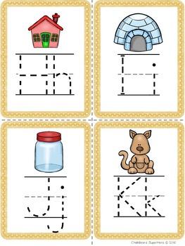 Alphabet Tracing Flashcards