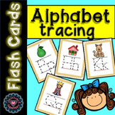 Alphabet Tracing Flashcards