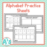Alphabet Tracing | Letter Writing | Beginning Sounds Pract