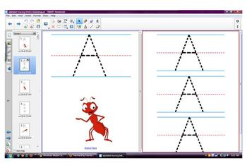 Alphabet Tracing Letters in English