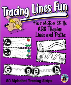 Alphabet Tracing Lines and Paths