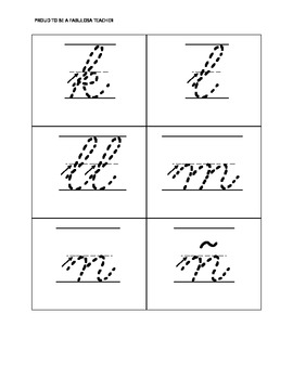 Alphabet Tracing Lowercase Letter