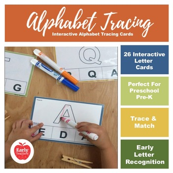 Alphabet Tracing ( Match + Trace )