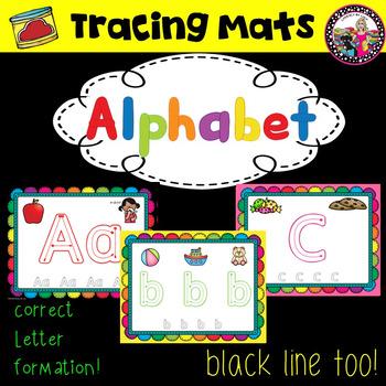 Alphabet Tracing Mats!
