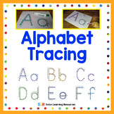 Alphabet Letter Tracing Pages