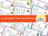 Alphabet Playdough and Tracing Mats