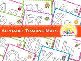 Alphabet Playdough and Tracing Mats