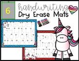 Handwriting Dry Erase Tracing Mats