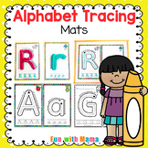 Alphabet Tracing Mats - Alphabet Playdough Mats | Alphabet