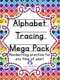 Alphabet Tracing Mega Pack: Handwriting practice for any time of year