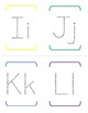 Alphabet Tracing Pages - upper/lower case - No cute pictures or distractions!