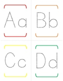 Alphabet Tracing Pages - upper/lower case - No cute pictur