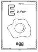 Alphabet Tracing Pictures Printables - Fine Motor Skills & Beginning Sounds
