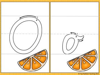 Alphabet Tracing/ Play Dough Mats {VIC FONT}