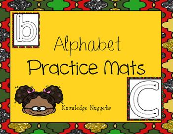 Alphabet Tracing/ Play Dough Mats