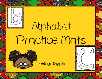 Alphabet Tracing/ Play Dough Mats