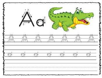ABC Tracing Practice