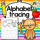 Alphabet Tracing Practice (Print Handwriting Practice)