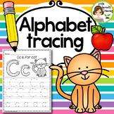 Alphabet Tracing Practice (Print Handwriting Practice)