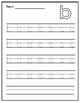 Alphabet Tracing Practice - Lowercase