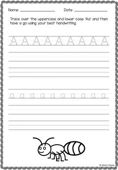 Alphabet Tracing - Practice Booklet