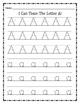 Alphabet Tracing Set by iLoveK