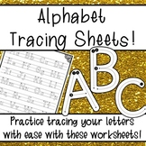 Alphabet Tracing Sheets