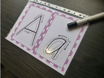 Victorian Modern Cursive Alphabet Tracing Sheets