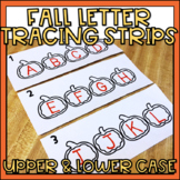 Alphabet Tracing Strips Upper & Lowercase Letters Fall Theme