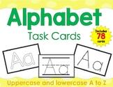 Alphabet Tracing Task Cards