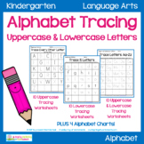 Alphabet Tracing Worksheets - Uppercase & Lowercase Letters