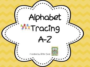 Alphabet Tracing Uppercase and Lowercase - #TeachersLoveTeachers