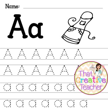 Alphabet Tracing Worksheets A-Z