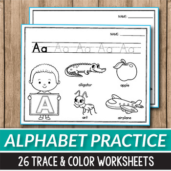 Alphabet Tracing Worksheets Alphabet Coloring Page Beginning Sounds